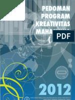 Panduan PKM 2012 1