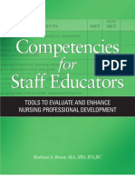 Competencies of Staff Educators