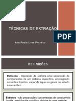 Técnicas de extração..pptx