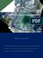 Minerais Trabalho
