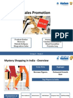 Sales Promotion Decline