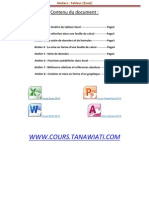 Ateliers Excel