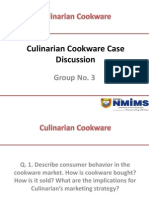 Culinarian Cookware Case Discussion_Group 3