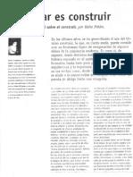 Proyectar Es Construir - Helio Piñon