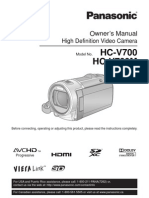 Hcv700 Manual