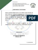 Constancia de 2012- 2013