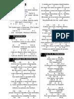 NOVO CANTICO CIFRADO - Versão para Imprimir Caderno