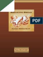 Breaking Bread Family Restaurant Menu
