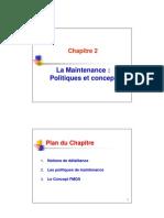 Chap2_La Maintenance Politiques Et Concepts