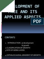 Development of Face &It's Applied Aspects