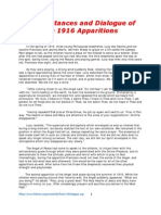 Circumstances and Dialogue of the 1916 Apparitions