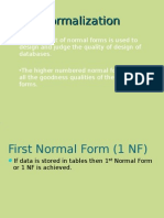18085656 DBgMS Normalization