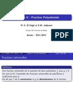Fractions Rationnelles(Hajji)