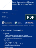 A Scenario Based Examination of Factors Impacting Automated Assessment Systems