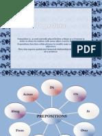 Prepositions Class Presentation