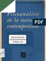 fromm - psicoanálisis de la sociedad contemporánea