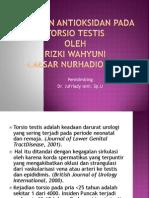 PERAN ANTIOKSIDAN TERHADAP TORSIO TESTIS