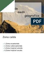 Tipuri de medii geografice