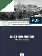 Dictionnaire Mozabite-Français - Ahmed Nouh-Mefnoune et Brahim Abdessalam