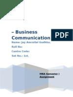 Business Communication_ketan Sem 1