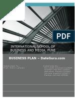 Business Plan DateGuru