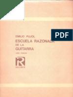 Pujol, Emilio (1886-1980)_Escuela Razonada de La Guitara (Libro 1)