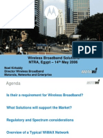 TRA Wireless Broadband Solutions - May 14th 2006