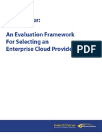 NTT Cloud Evaluation Framework