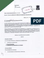 Tercera Modificacion Al Manual de Operacion Aduanera 2011