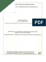 Organismo Nacional de Normalizacion y Cert. de La Construccion y Edificacion s.c.