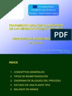 Plantas de Biometanizacion Por via Humeda y via Seca