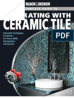 Black Decker Complete Guide to Decorating With Ceramic Tile