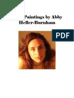 """Nine Paintings by Abby Heller-Burnham"""