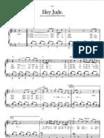 hey jude sheet music