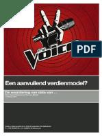 The Voice - Een aanvullend verdienmodel
