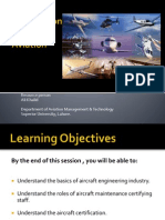 Aircraft Engineers and Maintenance Technicians - Lec 9