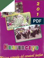 Carnaval Del Barrio de Huarancayo 2013