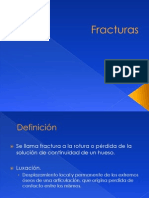 1.- Fracturas