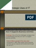 Strategic Uses of IT