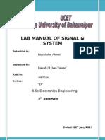 s&s lab manual