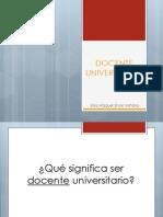 Docente universitario y planificación educativa odonto ENOKI-USAT 2012