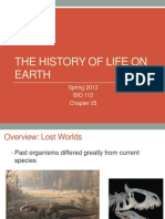 Chapter 25 History of Life on Earth