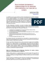 Amador Guarro Pallás (2013). NEOCONSERVADURISMO Y NEOLIBERALISMO EN EL SISTEMA EDUCATIVO ESPAÑOL