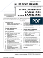 Sharp Lc-26-32sa1e Sm [ET service manual