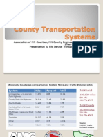 County transportation presentation (February 11, 2013)