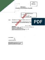Ministerratsbeschluss Ausreise Nov 1989