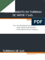 Mantenimiento en Turbinas de Vapor y Gas 2