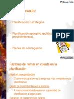Planificacion Estrategica, Operativa y de Contencion