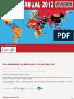 Reporteros Sin Fronteras. Informe Anual de la Libertad de Información 2012