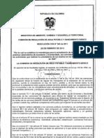 Resolucion Cra No. 543 de 2011 (Ipc)